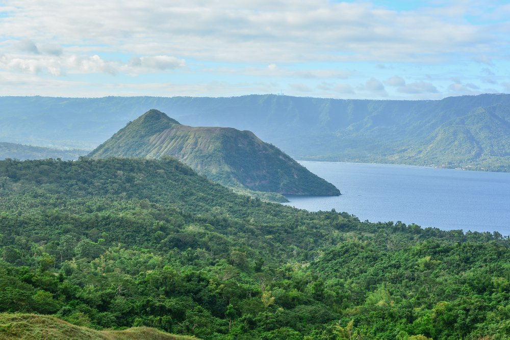 A Philippines island