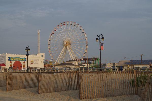 Early Morning on Boardwalk thumbnail
