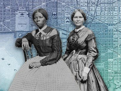 Harriet Tubman (left) and Elizabeth Keckley (right) are two of the many inspiring figures featured in historian Tamika Nunley's new book.