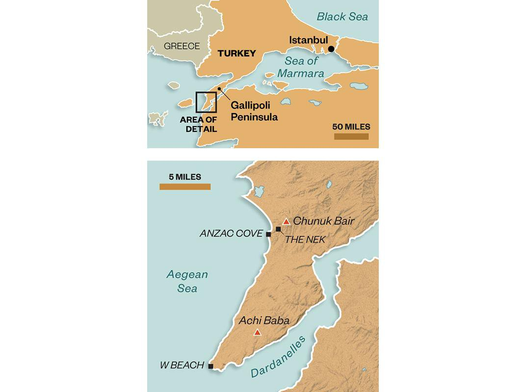A New View of the Battle of Gallipoli, One of the Bloodiest Conflicts of World War I