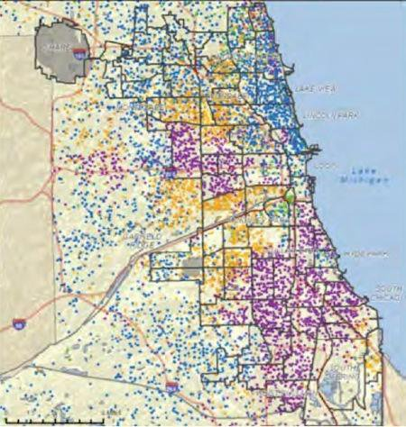 In Step With Income Inequality, US Cities More Geographically Segregated than Ever