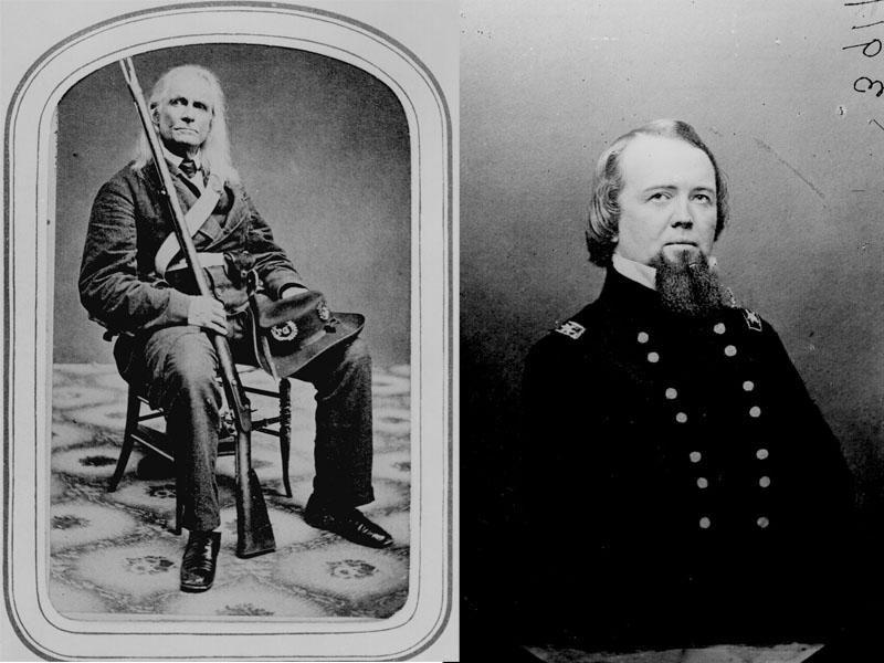 Civil War soldiers hair dye
