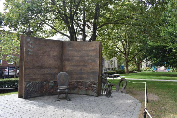Some displays making up the Dr. Seuss Memorial Scripture garden thumbnail
