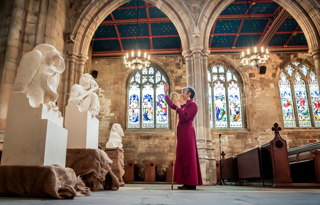Stone Sculptures of 'Chronicles of Narnia' Characters to Adorn Medieval Church