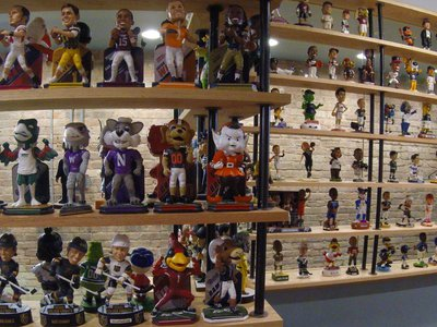 The National Bobblehead Hall of Fame and Museum was co-founded by two friends who have been collecting the figures for the past 16 years