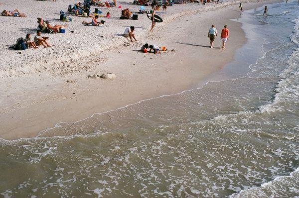 A gathering on the beach thumbnail