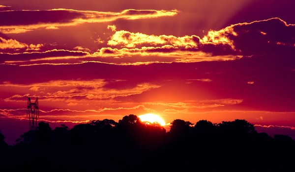 Sunset in Maleny thumbnail