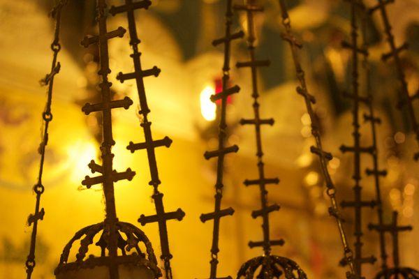 Golden crosses thumbnail