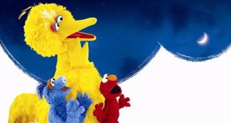 """Big Bird and the gang star in """"One World, One Sky"""" at the planetarium"""