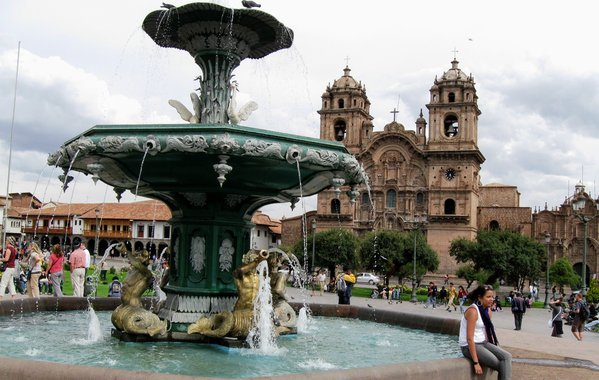 Cusco square scene  thumbnail