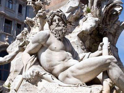 Bernini's Fountain of the Four Rivers