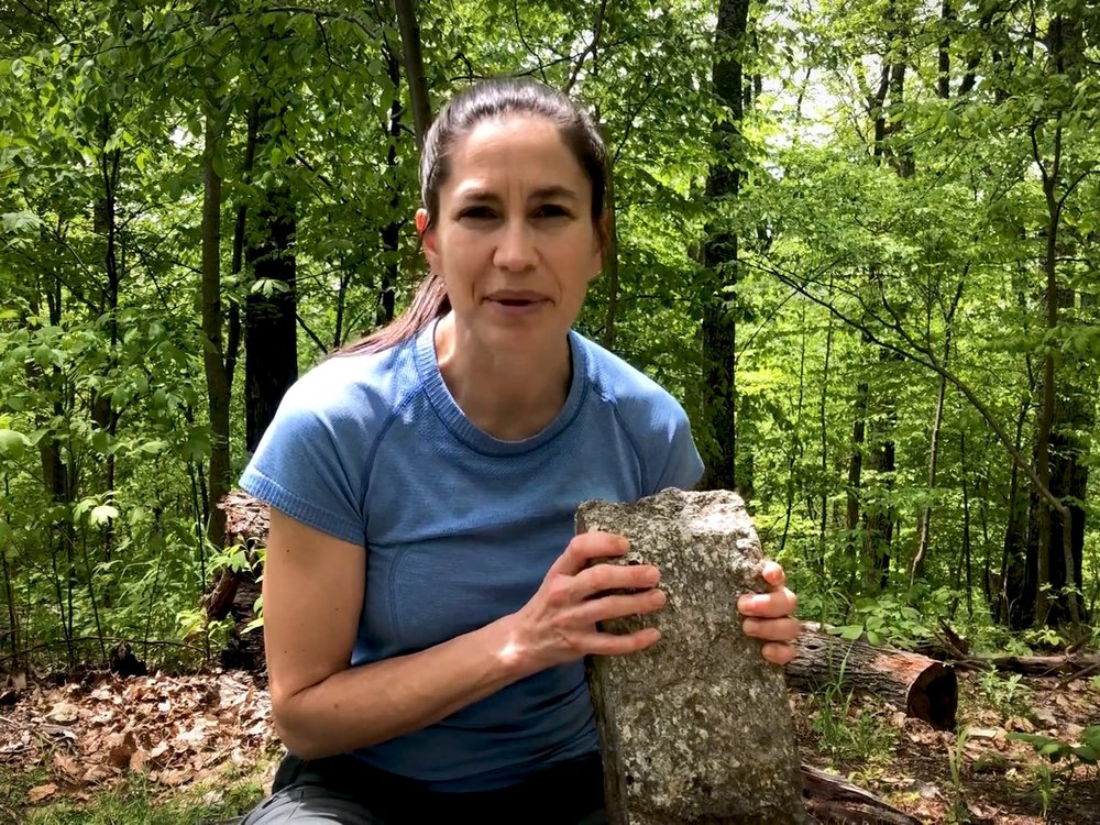 """Smithsonian Geologist Liz Cottrell answers your questions in the National Museum of Natural History's YouTube series, """"The Doctor Is In."""" (Smithsonian Institution)"""