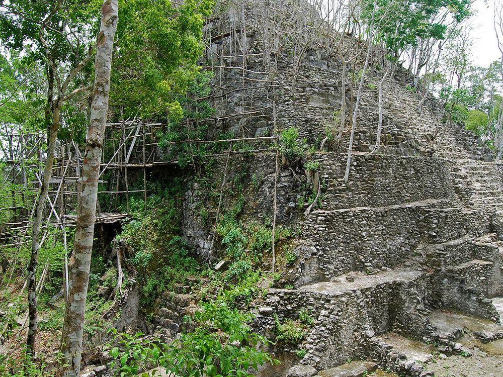 Pyramid at El Mirador