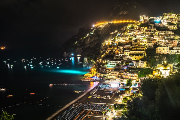 Positano by night thumbnail