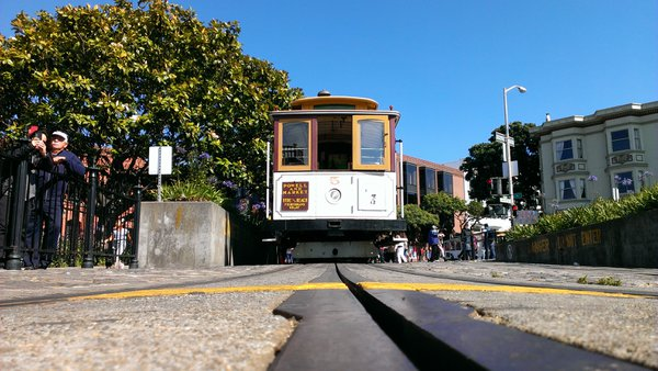 Powell-Hyde Line, San Francisco Cable Car. thumbnail