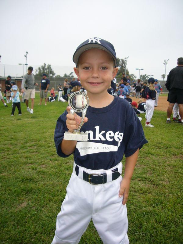 A Boy's First Little League Trophy thumbnail