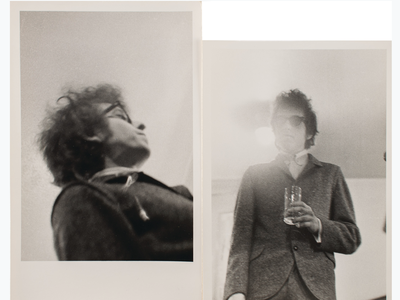A recently concluded auction featured a trove of artifacts collected by Bob Dylan's close friend Tony Glover.