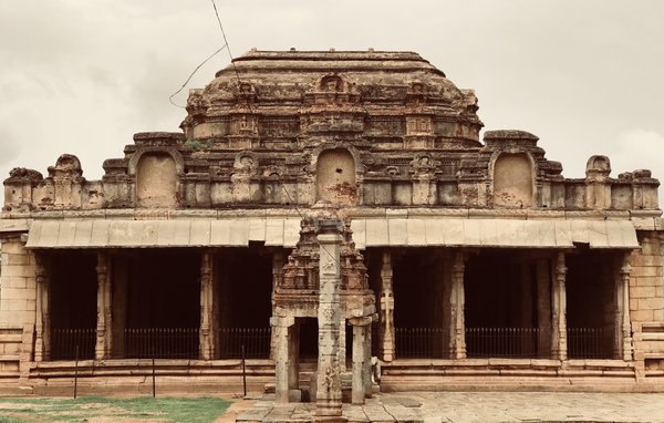 An ancient temple in hampi  thumbnail