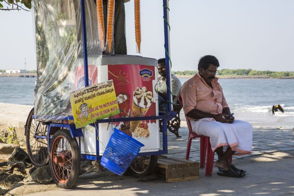 Ice Cream Seller, Fort Kochi thumbnail