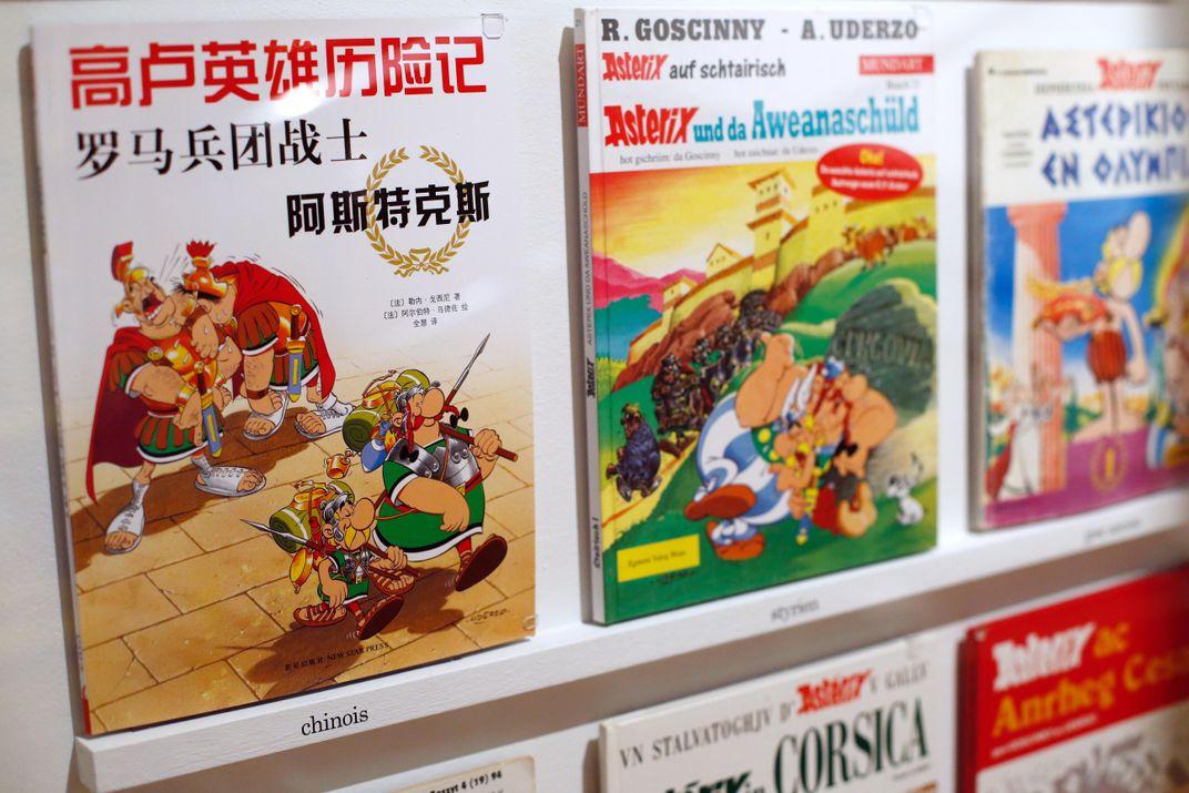 Albert Uderzo, Co-Creator of 'Asterix and Obelix' Comics, Dies at 92