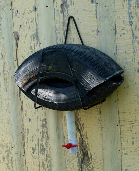 How to Build a Mosquito Trap From an Old Tire