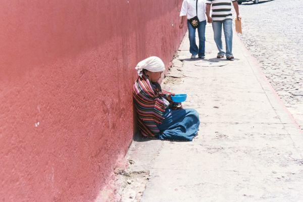 Beggar in Antigua  thumbnail