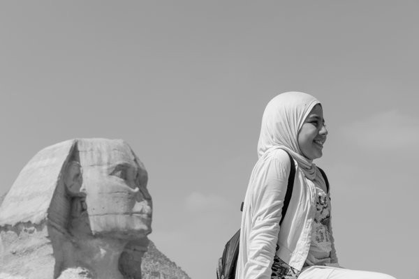The girl and the sphinx thumbnail