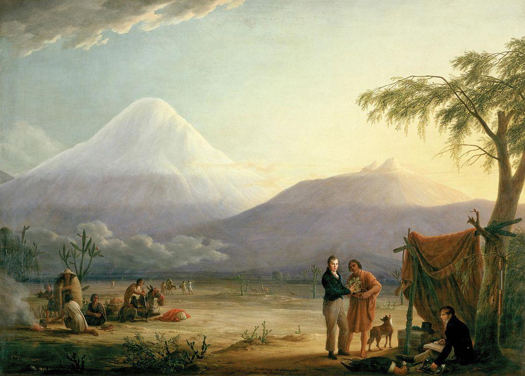 The Pioneering Maps of Alexander von Humboldt
