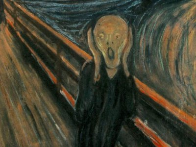 Munch's painting 'The Scream' is one of Western art's most familiar images.