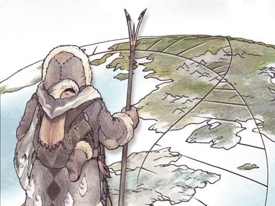 An ancient population of Arctic hunter-gatherers, known as Paleo-Eskimos, made a significant genetic contribution to populations living in Arctic North America today.
