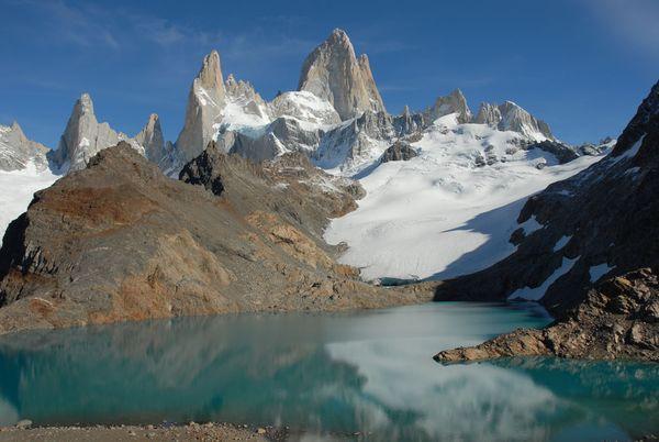 Andes Fitz Roy mountain Argentina thumbnail