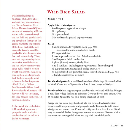 Wild Rice Salad layers all the best of fall flavors.