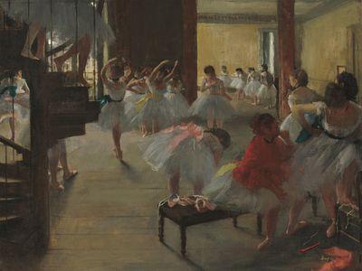 The Dance Class, c. 1873. Oil on canvas.