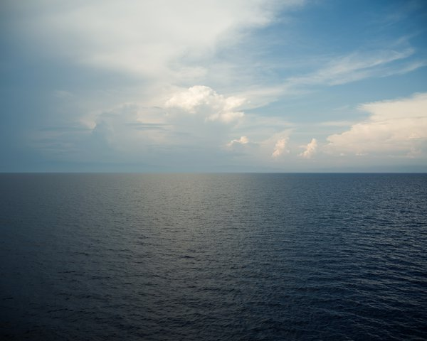 Somewhere between Italy and Corsica in the middle of the mediterranean sea thumbnail