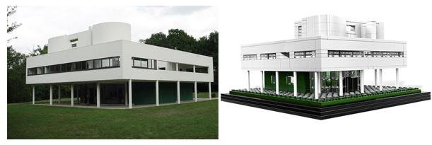 Lego Architecture Studio Brings Modernism to the Play Room
