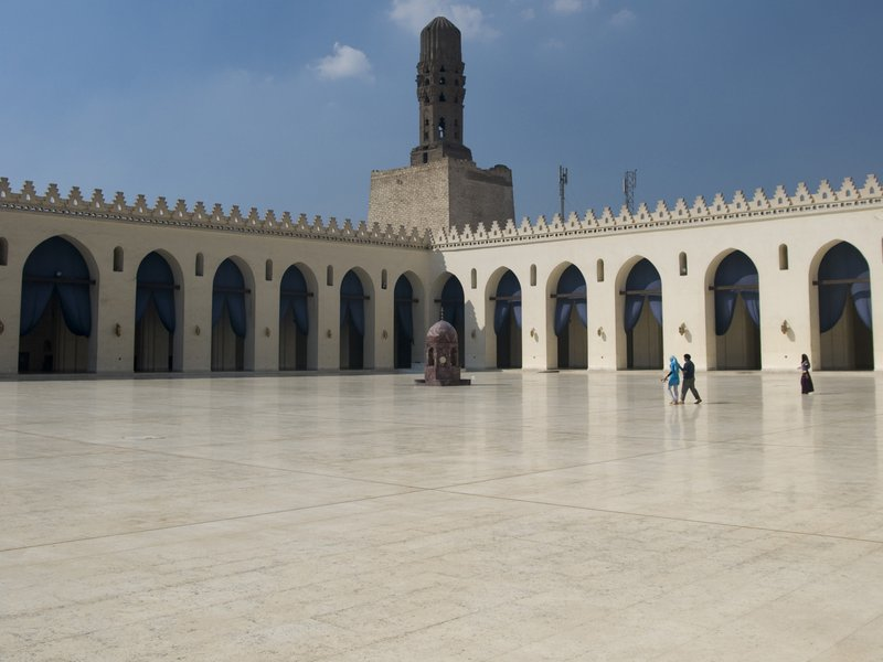 Al-Hakim Mosque Is A Major Islamic Religious Site In Cairo
