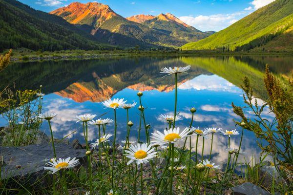 Crystal Lake Reflection thumbnail