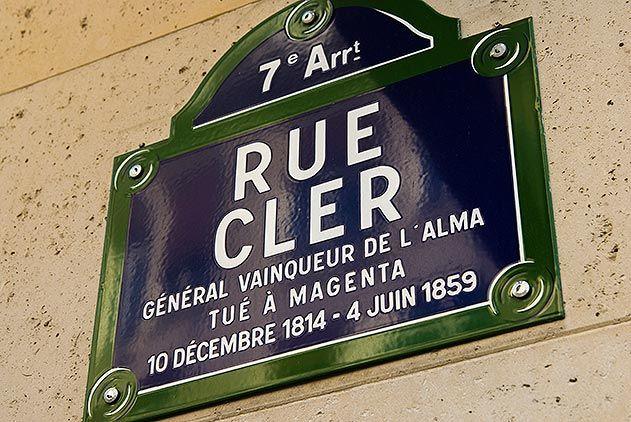 Rue Cler seventh arrondissement of Paris