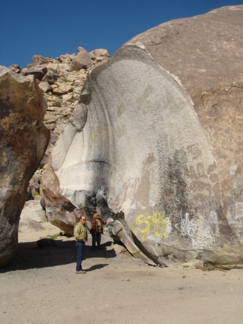 Come for the Giant Rock, Stay for the UFO History