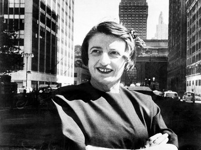 """After the 1943 publication of Ayn Rand's book """"The Fountainhead,"""" she amassed a cult-like following that spread her message far and wide."""