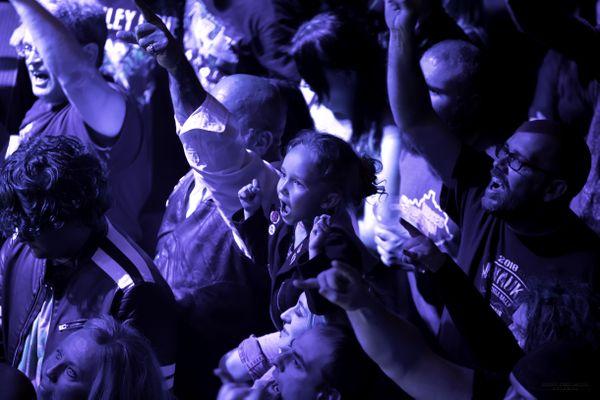 Young Girl Enjoying Concert thumbnail