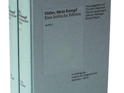 The Institute for Contemporary History's reissued version of Mein Kampf is an anonymous-looking doorstop packed with footnotes and historical context.