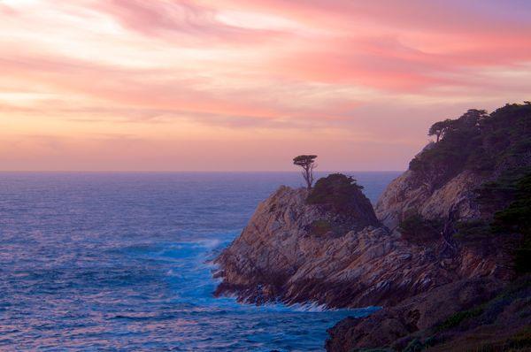 Pastel Sunset at Point Lobos thumbnail