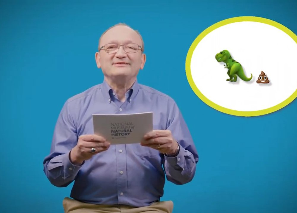"""Smithsonian paleontologist, Hans Sues, answers your questions in the National Museum of Natural History's Deep Time YouTube series, """"The Doctor Is In."""" (Smithsonian Institution)"""