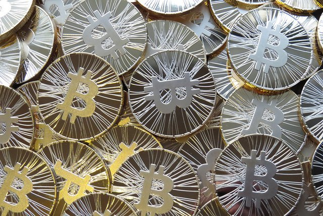 Physical bitcoins exist, but the currency is a digital one.