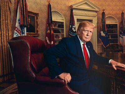 President Donald J. Trump by Pari Dukovic for Time magazine, 2019