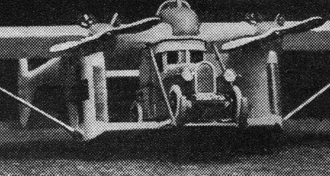 Flying ambulance of the future (1927)
