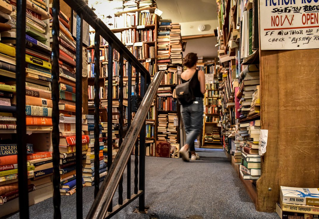 Local Bookstores Offer 'Mystery Bags' of Quarantine Reading