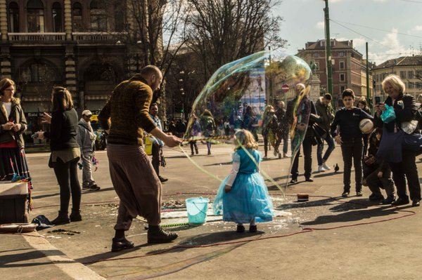 Girl in the bubble thumbnail