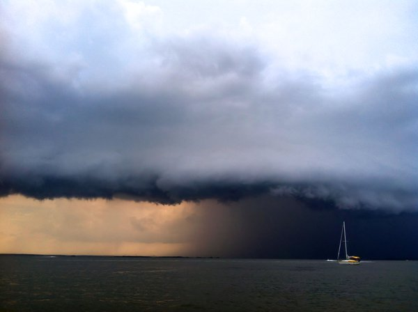 A sudden storm in July on the Georgia coast thumbnail
